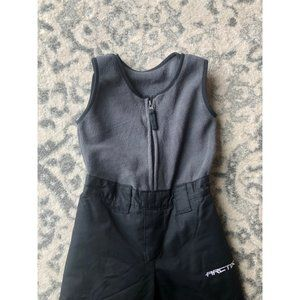 Arctix Snowpants Gray/Black Size 3T